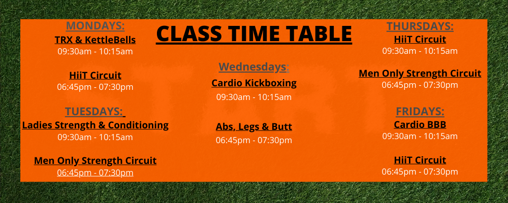 Excellence-Gym-Balbriggan-Class Time-Table-Find-Fitness-Classes-Near-Me